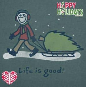 Life is good christmas